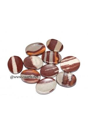 Narmada Shiva Oval Shape Thumb Stone
