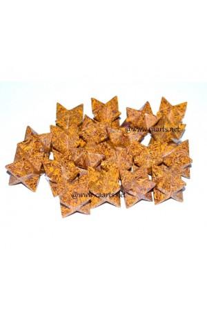 Calligraphy Gemstone Merkaba Star