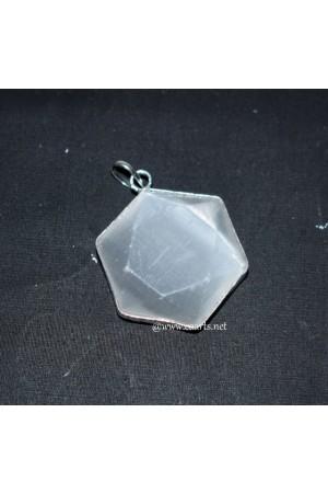 Selenite SOD Frame Pendant